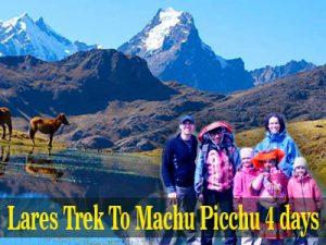 Lares Trek Machu Picchu